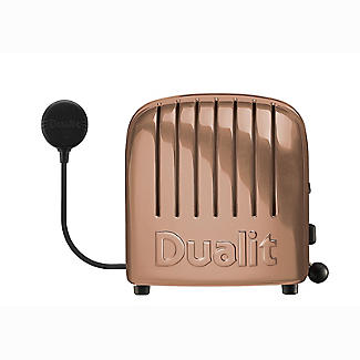 Dualit Classic Copper 4 Slice Toaster 47450 alt image 3