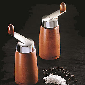 Cole and Mason Morley Crank Beech Salt Mill alt image 2