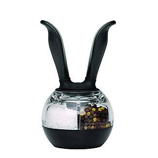 Chef'n Ball Rabbit Grinder Mill - 2 in 1 Salt & Pepper Ready Filled