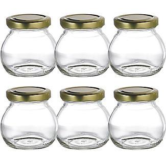 6 Marmeladengläser à 212 ml