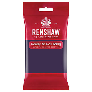 Renshaw Ready to Roll Coloured Icing - 250g Purple alt image 1