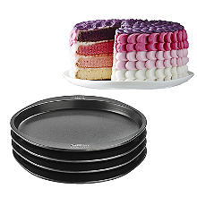 Wilton® Easy Layer Rundes Schichtkuchen-Set, 20 cm