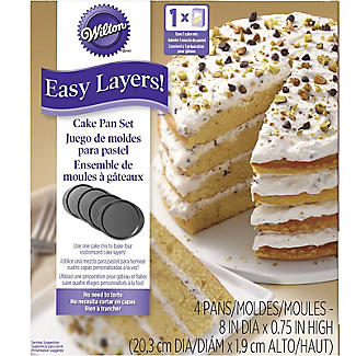 Wilton Easy Layer 20cm Cake Pan Set alt image 6