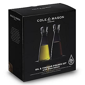 Cole and Mason Oil and Vinegar Set alt image 2