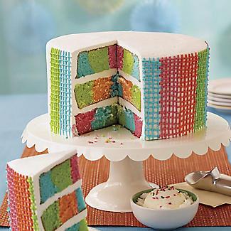 Wilton Checkerboard Cake Pan Set alt image 5