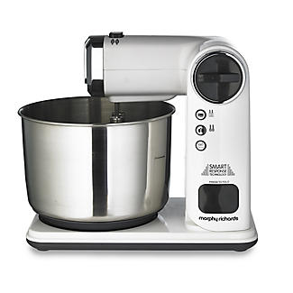 Morphy Richards® Foldable 3.5L Stand Mixer - Silver 400405