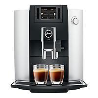 Jura E6 Bean-to-Cup Coffee Machine Platinum 15079
