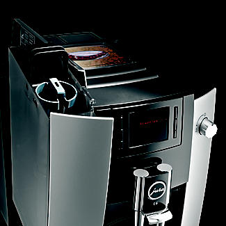 Jura E6 Bean-to-Cup Coffee Machine Platinum 15079 alt image 4