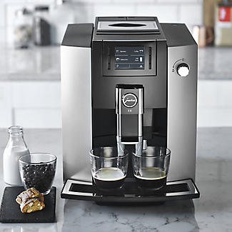 Jura E6 Bean-to-Cup Coffee Machine Platinum 15079 alt image 8