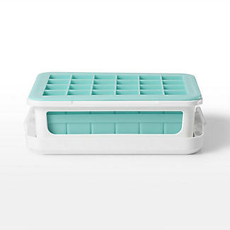 OXO Good Grips Covered Silicone Double Ice Cube Tray alt image 5