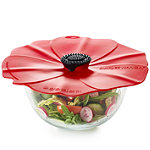 Silicone Poppy Bowl Cover and Splatter Guard 28cm