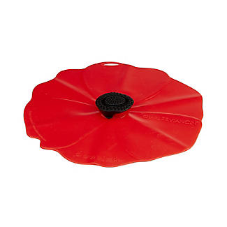Silicone Poppy Bowl Cover and Splatter Guard 20cm alt image 3