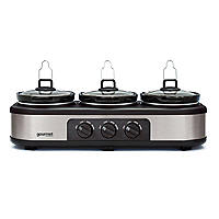 Bella Cook and Serve 3 Pot Slow Cooker