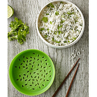 Lékué Microwave Cookware Green and White Rice and Grain Cooker 1 Litre alt image 2