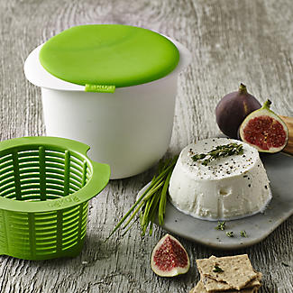 Lékué Microwave Cookware - Green & White Cheese Maker alt image 2