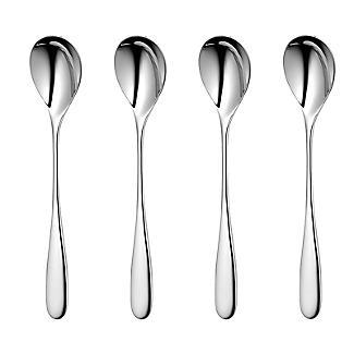 Robert Welch Stanton 4-Piece Long-Handled Teaspoon Set alt image 3