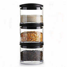 Robert Welch Signature 3-Piece Storage Jar Set 600ml