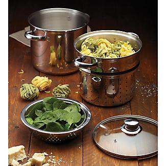 World of Flavours Pasta Cooker & Steamer alt image 2