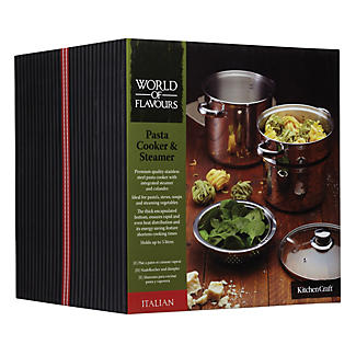World of Flavours Pasta Cooker & Steamer alt image 3
