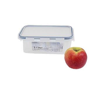1.1L Clip Top Airtight Food Storage Container alt image 2
