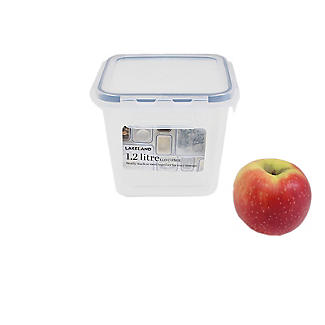 1.2L Clip Top Airtight Food Storage Container alt image 2