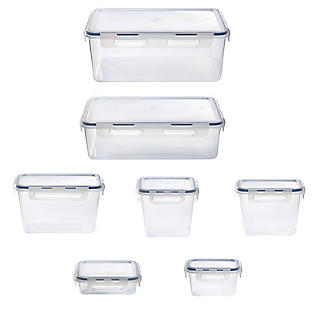 1.2L Clip Top Airtight Food Storage Container alt image 3