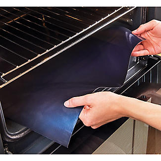 Magic Non-Stick Oven Liner Large 100 x 50cm. alt image 2