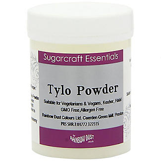 Rainbow Dust Tylo Powder - 50g Makes Edible Glue & Thickens Icing alt image 1