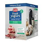 EasiYo Indulgence Greek Style Rhubarb Yogurt Mix x 4