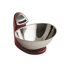 Typhoon Vision Electronic Kitchen Scales Red