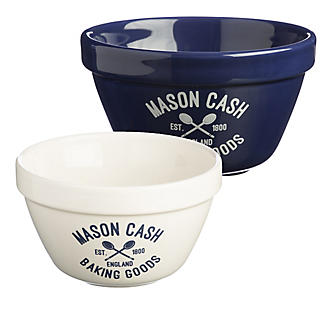 Mason Cash Varsity 2 Pudding Basins