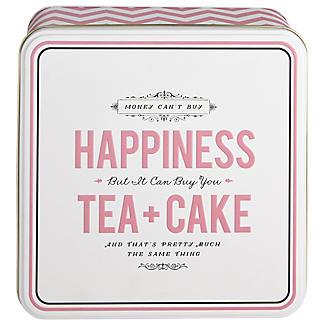 Happiness Tea & Cake Tin