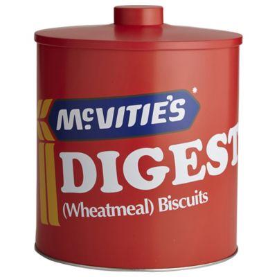 Mcvities Digestive Biscuit Tin Lakeland