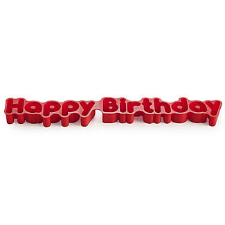 'Happy Birthday' Cake Mould
