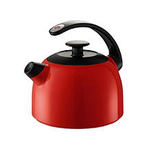 Wesco Whistling Water Kettle Red