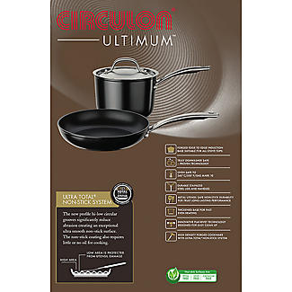Circulon Ultimum 24cm Covered Sauté Pan alt image 3