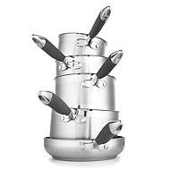 Lakeland 5-Piece Stainless Steel Pan Set