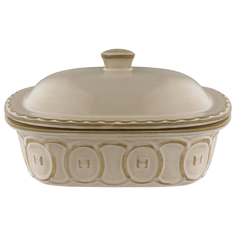 Microwave And Oven Safe Ceramic Lidded Casserole Dish Pausa Dishwasher
