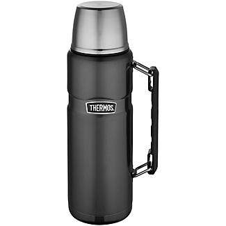 Thermos  King Grey Large Flask 1.2L alt image 1