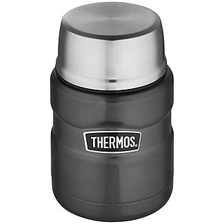 Thermos King Grey Small Food Flask 470ml