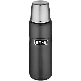 Thermos King Grey Small Flask 470ml