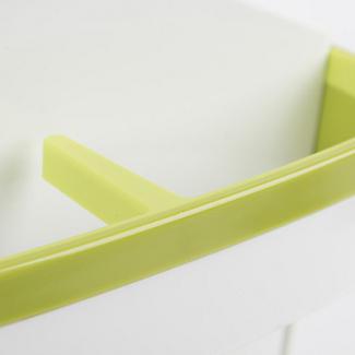 ILO Revolving Knife Block & Utensil Store White/Green alt image 6