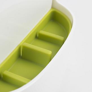 ILO Revolving Knife Block & Utensil Store White/Green alt image 7
