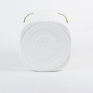 ILO Revolving Knife Block & Utensil Store White/Green alt image 8