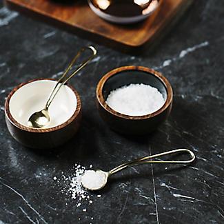 Just Slate Wooden Condiment Set alt image 5