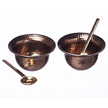 Just Slate Copper Condiment Set