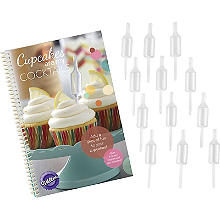 Wilton Shot Tops Recipe Book and Topper Infuser Set