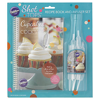 Wilton Shot Tops Recipe Book and Topper Infuser Set alt image 3