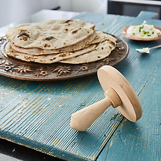 Authentic India by Anjula Devi Wooden Chapati Fluffer alt image 2