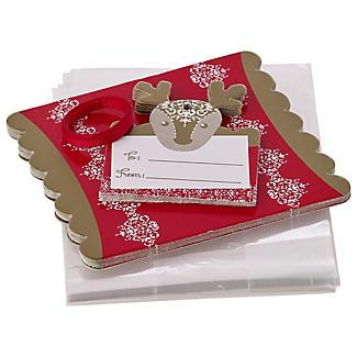 12 Reindeer Treat Bags alt image 2